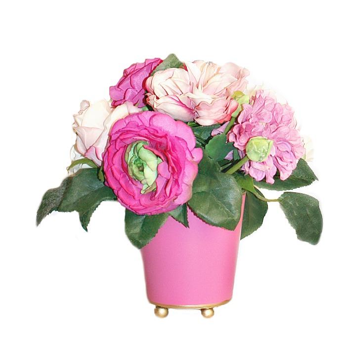 Ma Petite Cherie Pink Floral Arrangement