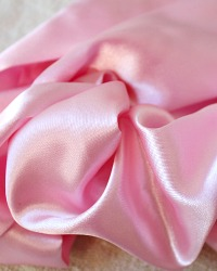 Satin Chandelier Cord Cover Paris PINK