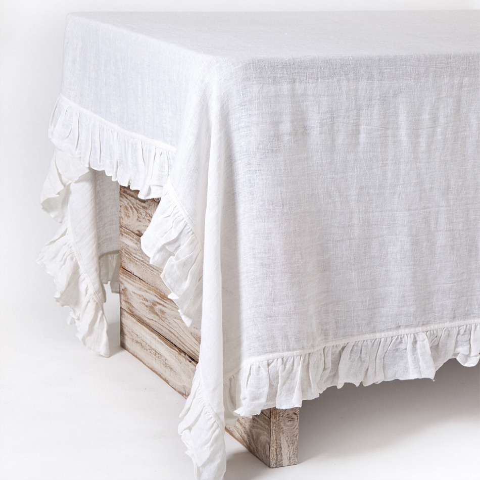 Pom Pom at Home Linen Voile Lily Tablecloth