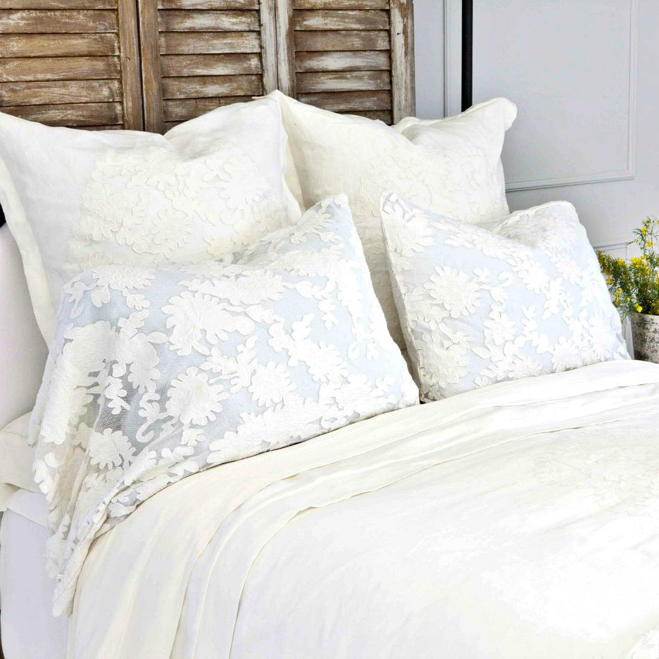 Pom Pom at Home Caprice Pillow Sham Pearl