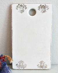 Antique Porcelain Onion Board Gilt