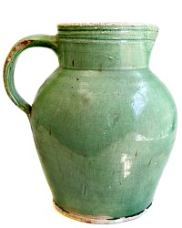 Original Antique French Prevelles Water Jug