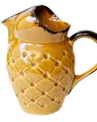 French Country Provencial Wine Pitcher