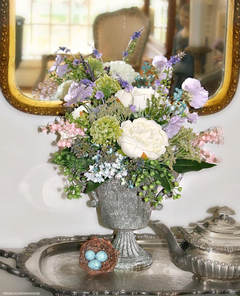Stunning French Secret Garden Arrangement in Urn