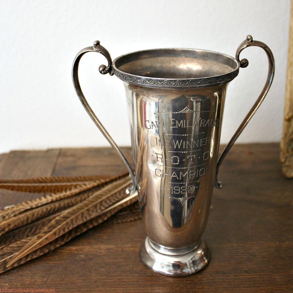 Vintage 1932 Champion R.O.T.C. Trophy