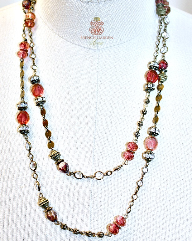 Georgia Hecht Rose Wrap Necklace