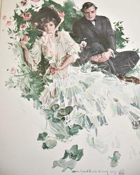 Antique Riley Roses 1st Edition Howard Chandler Christy