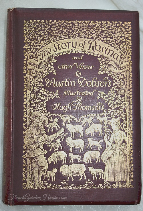 Antique 1st Edition English Book The Story of Rosina Austin Dobson