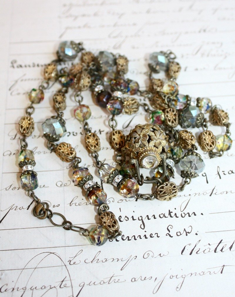 Sacred Treasure Necklace Blue Water