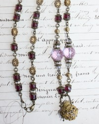 Tuileries Necklace Lavender Dreams