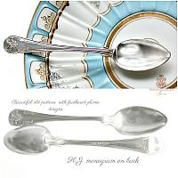 Sterling Silver Demitasse Spoons Set of 8