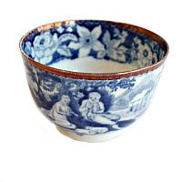 Antique Blue and White Tea Bowl Shreve Crump & Low