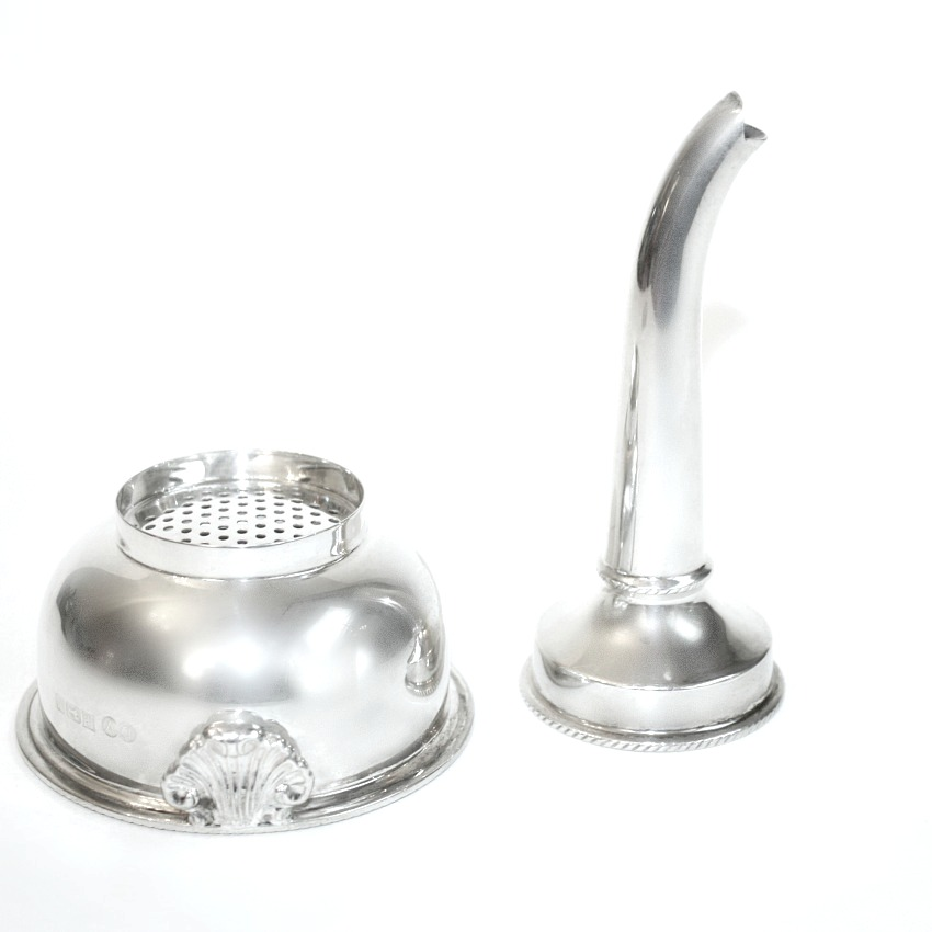 Estate English Sterling Wine Funnel