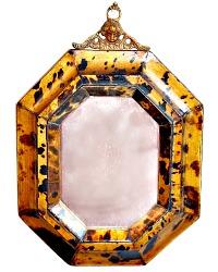 Exquisite Small Mirror with Cherub Hanger
