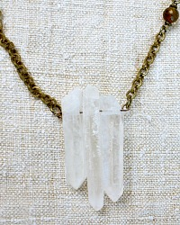 Natural Elements Necklace Snow Crystal