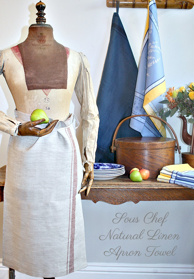 Sous Chef Natural Linen Apron Towel