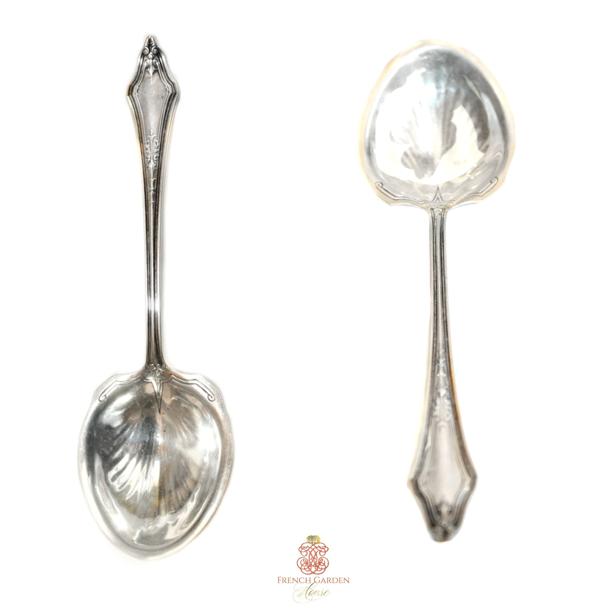 Antique Sterling Silver Jam Spoon