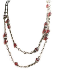 J'adore Rouge Wrap Necklace