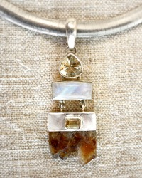 Mystic River Sterling Necklace