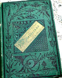 Antique Book The Parisians Edward Bulwer, Lord Lytton