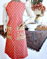 *French Country Provence Traditional Apron