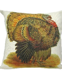 Turkey Throw Pillow Cover