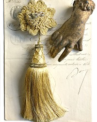 French Versailles Gold Bullion Tassel