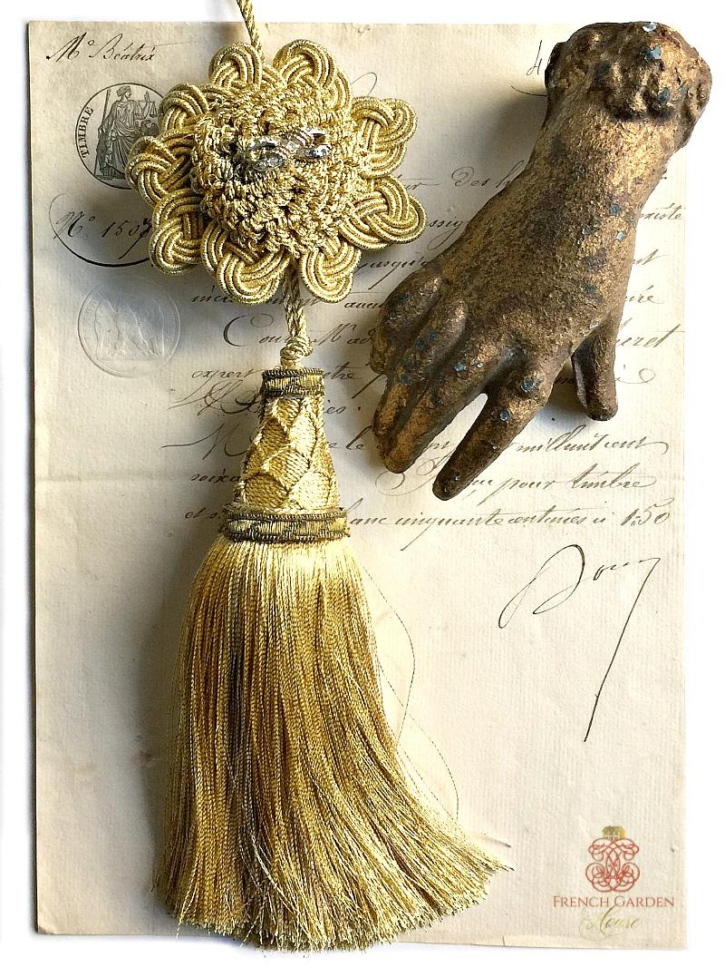French Versailles Gold Bullion Tassel