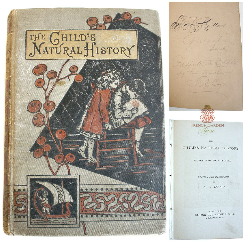 19th Century The Child's Natural History Book