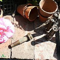 Vintage Brass Garden Hose Nozzle