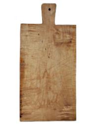 Vintage French Farmhouse Handled Chopping Board