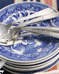 Vintage Silver Plate Flatware Dessert Forks Set of 6