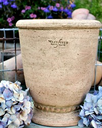 Hand Made Wakefield Studio Provence Plant Pot Set of 2