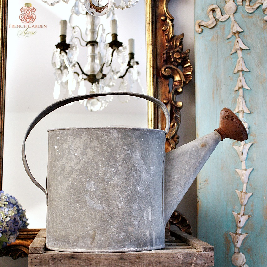 Antique Zinc Watering Can
