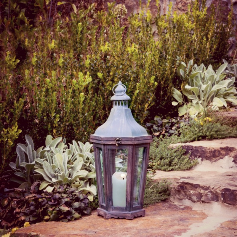 French Country Style Aged Lantern