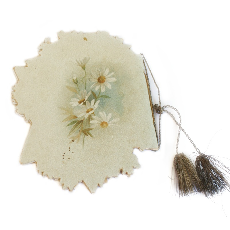 Antique Victorian Floral Gift Book