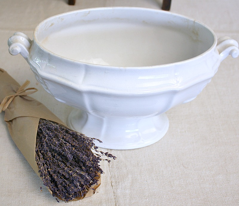 19th Century Antique English Footed Server