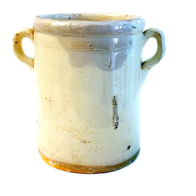 19th Century French Faience Sardine Jar E