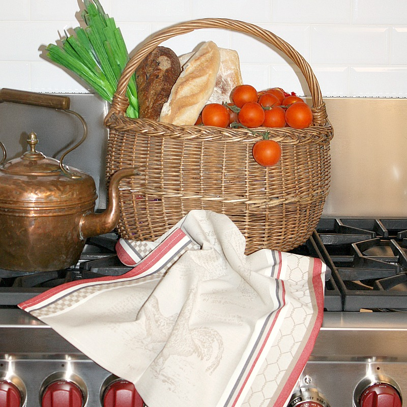 French Country Panier Market Basket