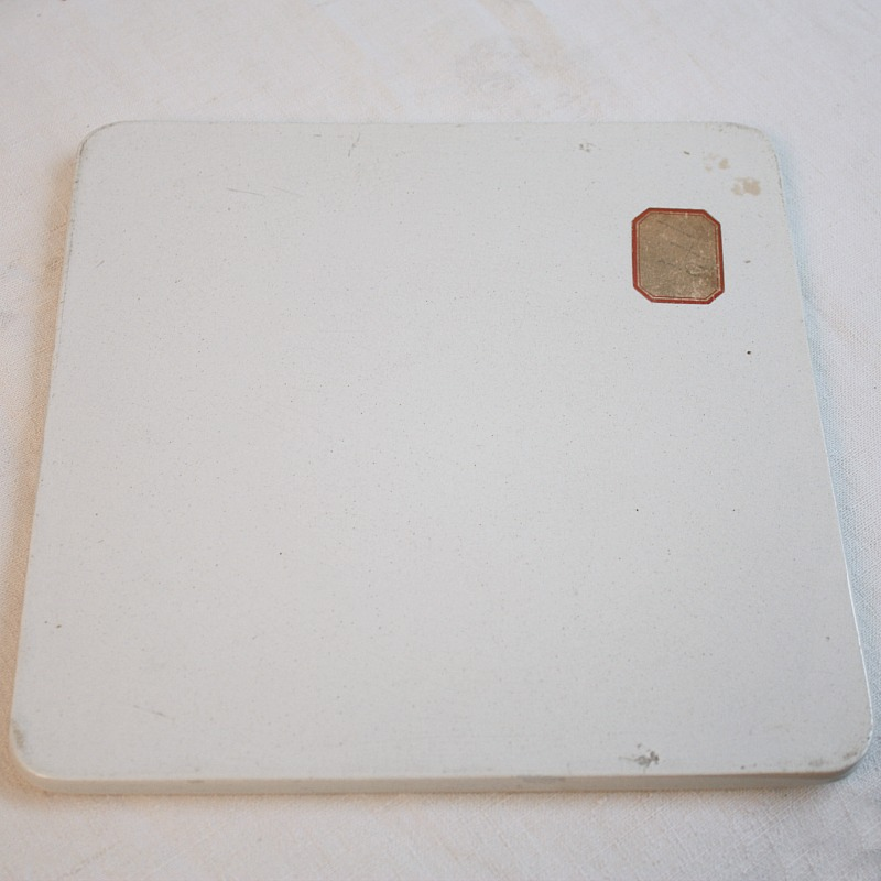 Antique French Pharmacy Scale Ironstone Plateau
