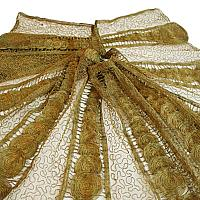 Antique French Gold Bullion Lace Capelet