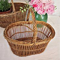 Country Willow Panier Market Basket