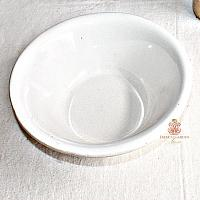Antique White Ironstone Bowl