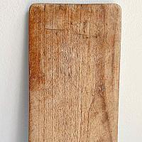 Antique Monogrammed Wood Board