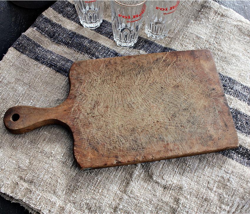 Rustic Antique Dark Patina Cutting Board