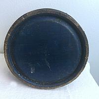 Antique Blue Firkin