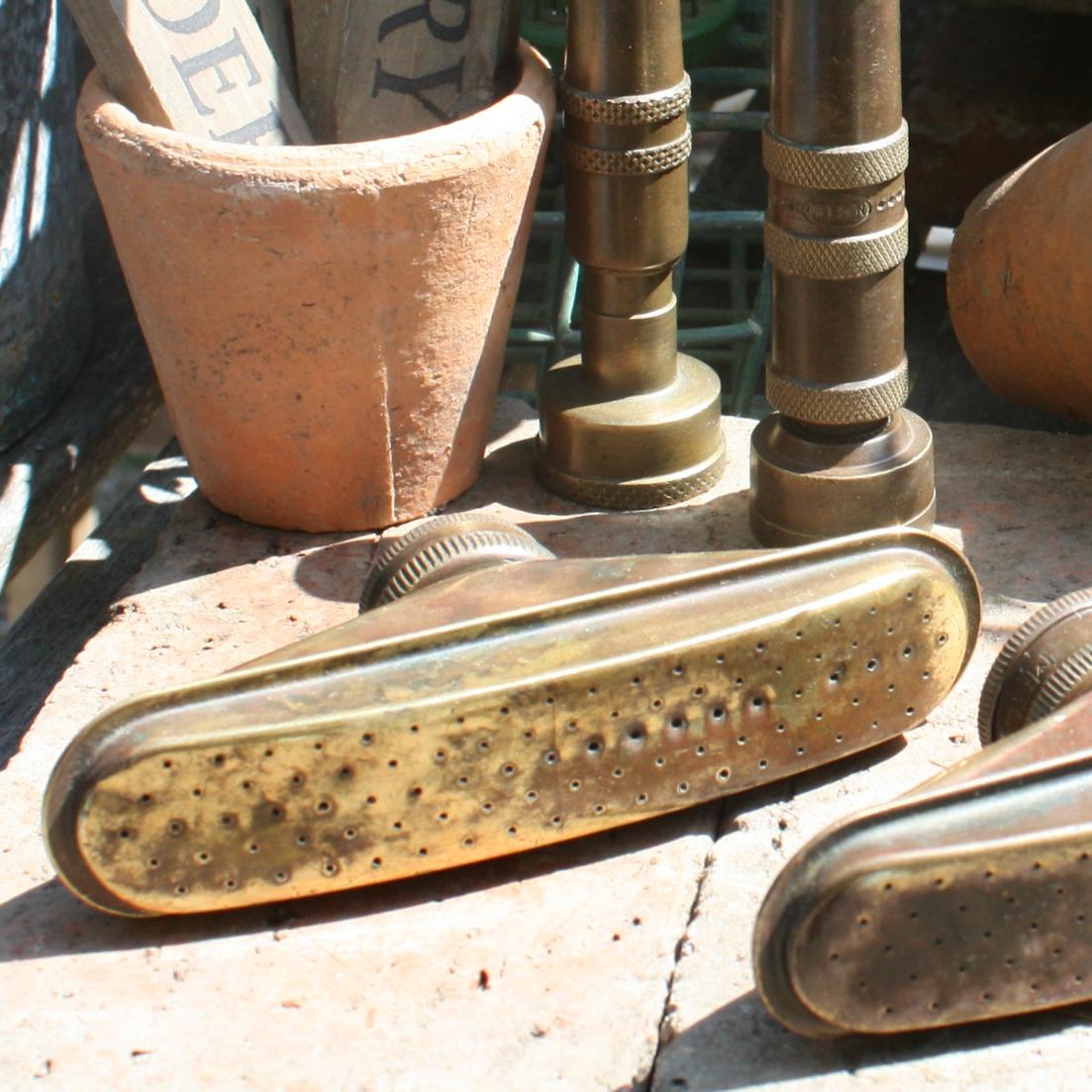 Vintage Brass Sprinkling Water Sprayer Nozzle