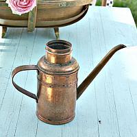 Estate Copper Miniature Watering Can