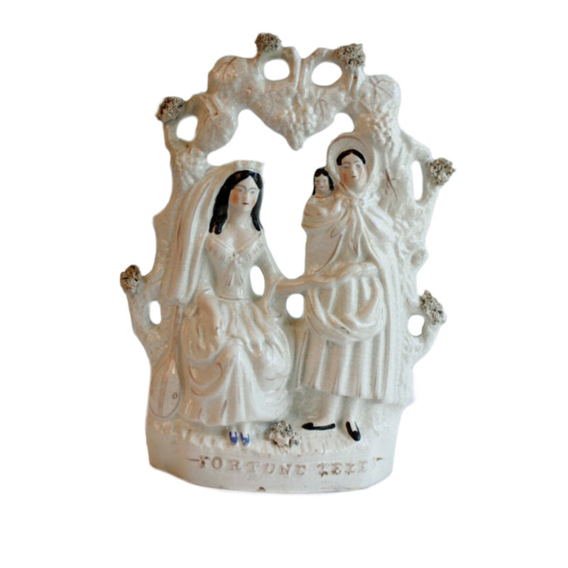 19th Century Staffordshire Pearlware Pottery Figures