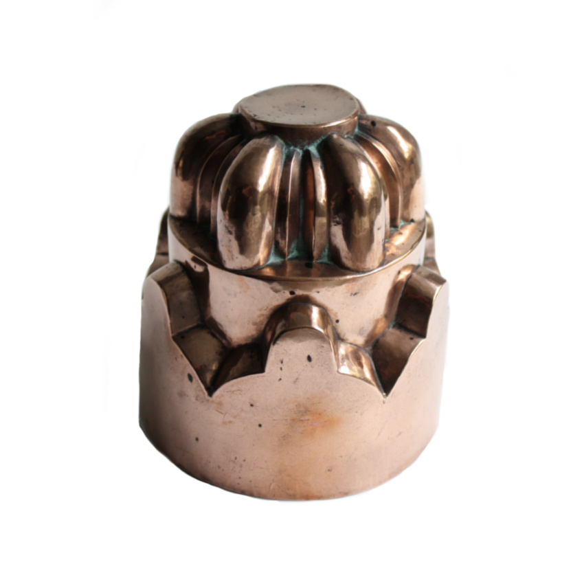 Antique Copper Jelly Mold 21c